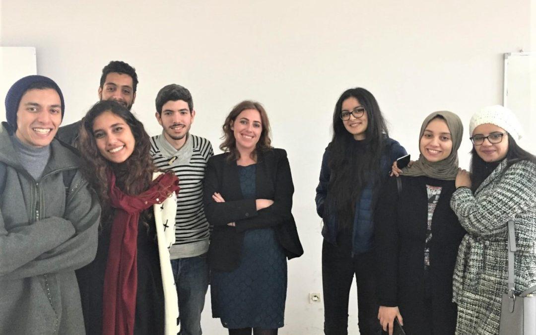 Kellie Quinn, Morocco 2017-2018